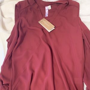Maroon shirt NEW